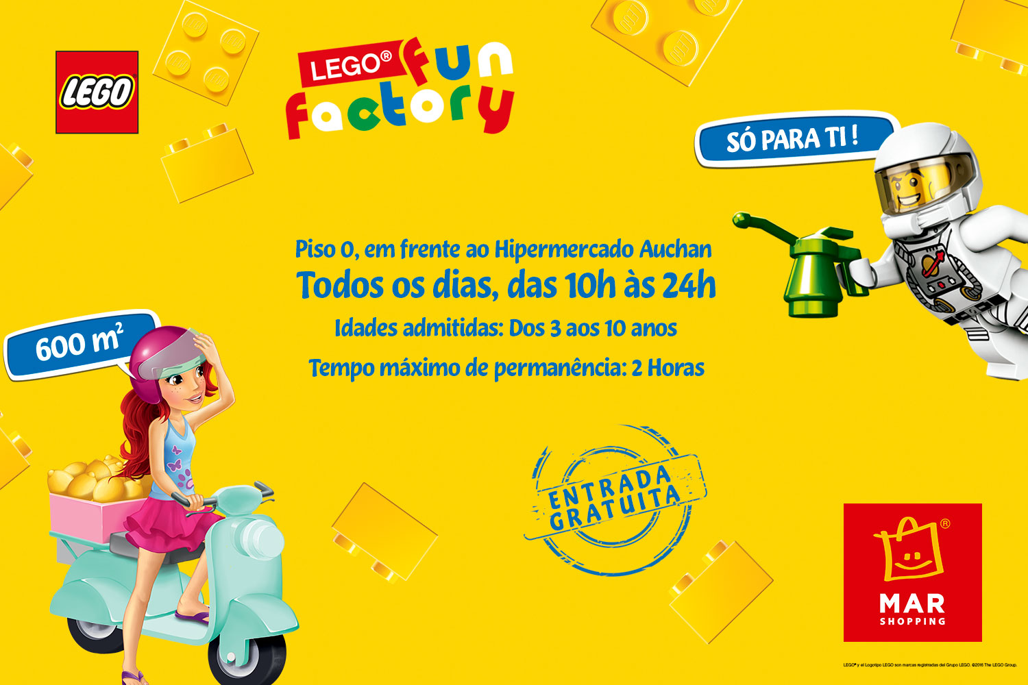 lego fun factory for families